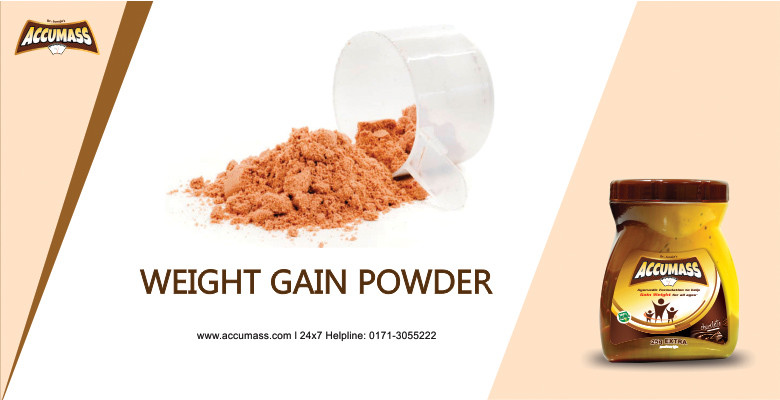 weight Gain Powder - accumass