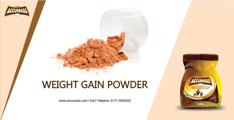 weight Gain Powder - accumass