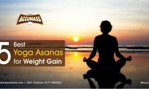 5 Best Yoga Asanas for Weight Gain