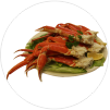 crab-foods Highest Calorie Food