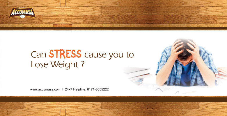Can stress cause you to lose weight