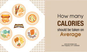How many Calories Should be Taken on Average