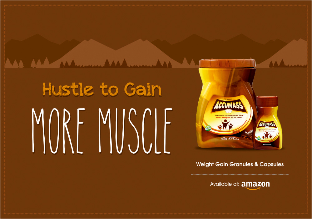 Accumass Products for More Muscles