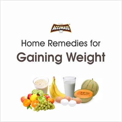 Top eight home remedies for gaining weight