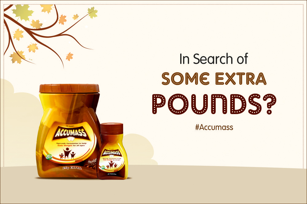 If you are worried about your underweight problem and want to gain some extra pounds then use the goodness of Natural Ingredients in Accumass.