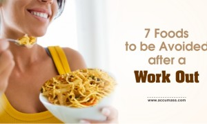 7 Foods to be Avoided after a Work out